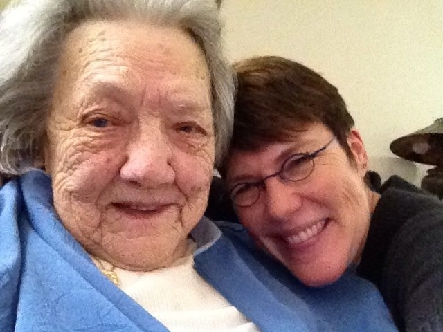 A Gray Day at Princeton Towers