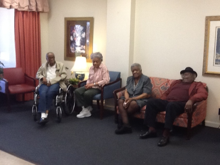 Civil Disobedience at The Home for Wayward Seniors