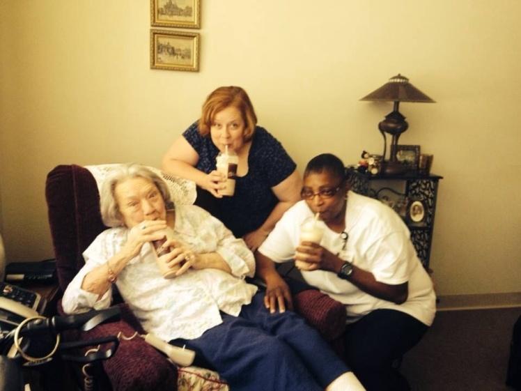 Milkshakes and Special Visitors at The Home for Wayward Seniors