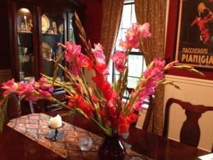 Beautiful flowers from my sweet Dan.