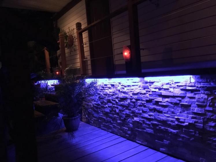 decks at night